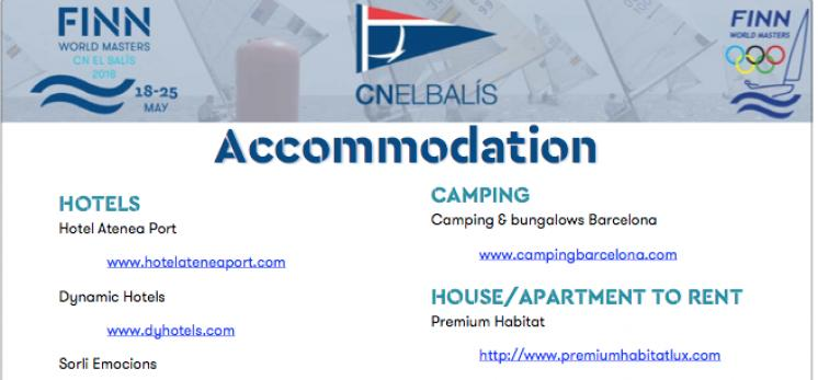 Accommodation options and offers