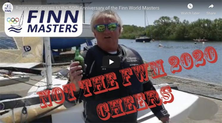 Raise your glasses - NOT the 2020 Finn World Masters Annual Dinner