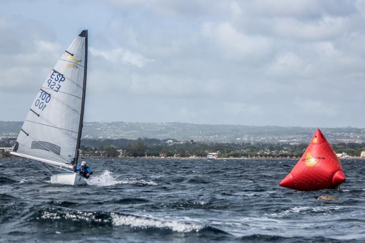 Rafa Trujillo back in charge as winds ease for Finn Masters in Barbados